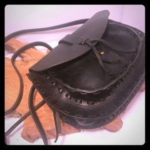 Madewell adorable leather boho crossbody purse